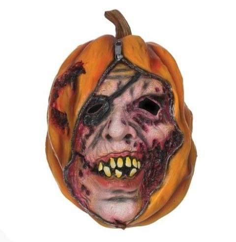 Pumpkin unzipped mask