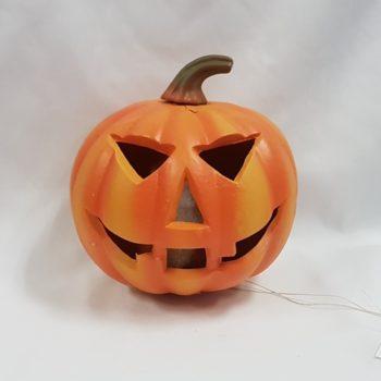 Pumpkin with light