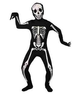 Skeleton suit child
