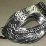Sreampunk mask silver