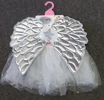 Toddler angel tutu set