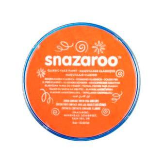 Snazaroo face paint orange