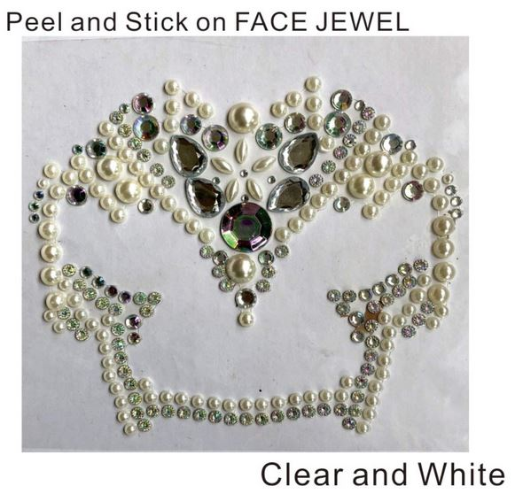 Face art gem stocler
