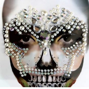 Face art skull decor
