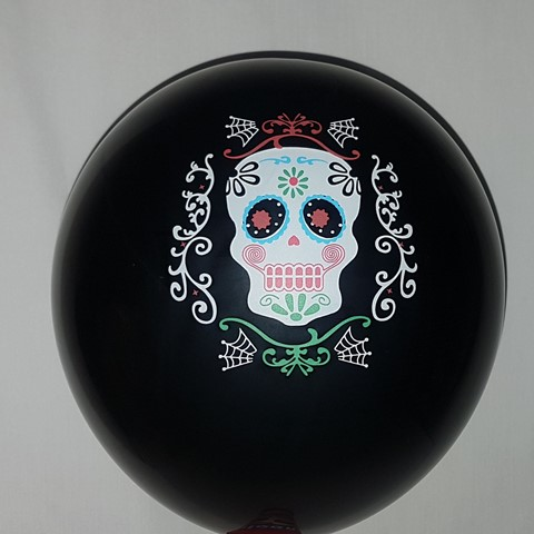 Day of the Dead balloons