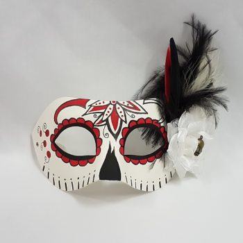 Day of the Dead design mask