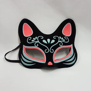 Cat day of the Dead mask