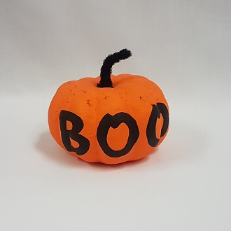 Small poly pumpkin