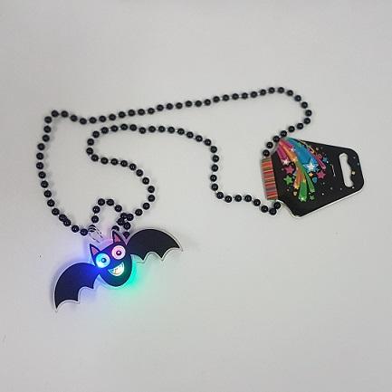 LIght up bat necklace