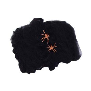 Stretchable spider web black