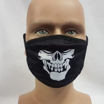 Face mask - skull design