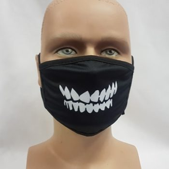 Face mask teeth design