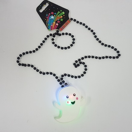 Ghost necklace light up