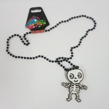 LIght up skeleton necklace