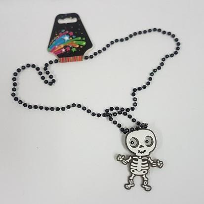 LIght up skeleton necklace