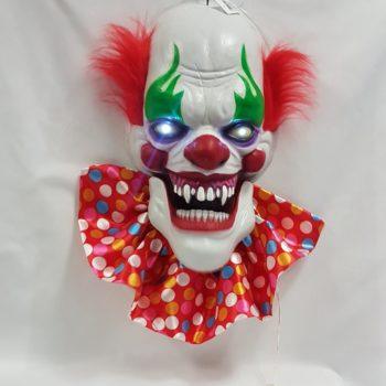 Talking clown head light up