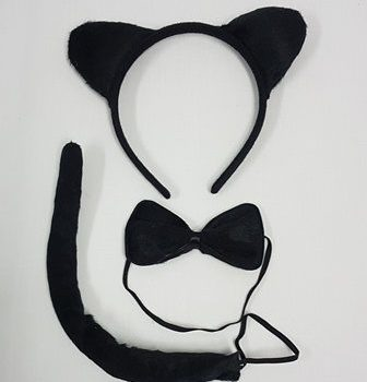 Black cat accessory kit