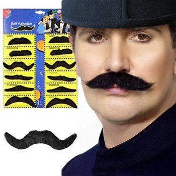 Fake moustaches