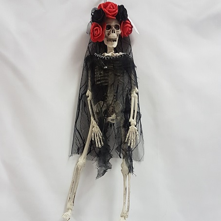 Day of the Dead skeleton bride