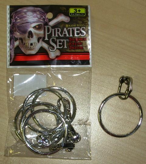Pirate earrings