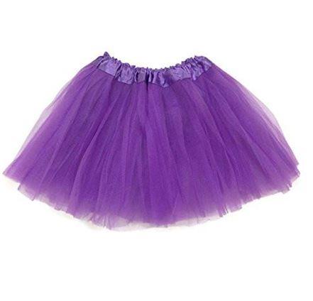 Purple net tutu