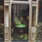 Door cover - witches brew