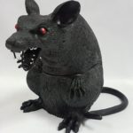 Giant scary rat prop