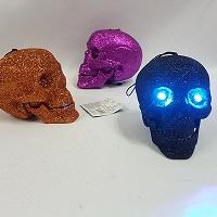 Small glitter skulls