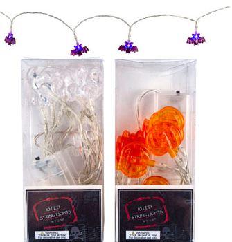 Halloween string light assortment