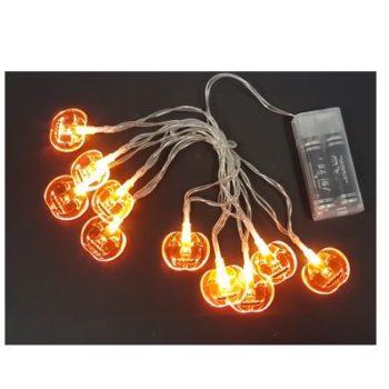 Pumpkin string lights