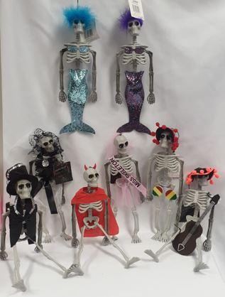 LIttle skeleton characters