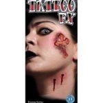 Vampire kiss tattoo