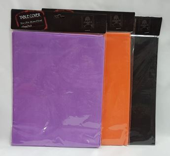 Plain colour table cover