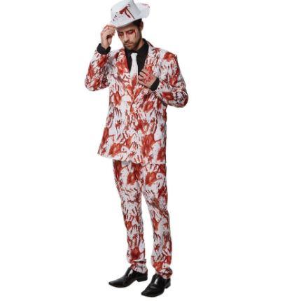 Bloody hands suit