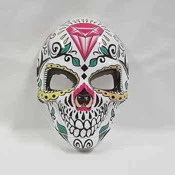 Day of the Dead mask - diamond