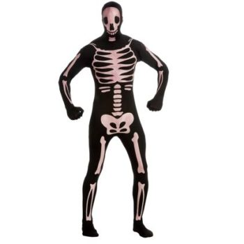 2nd Skeleton Costume
