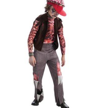 Zombie punk rocker