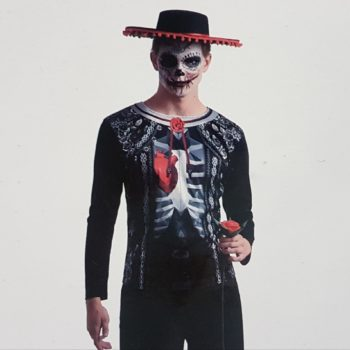 Day of the Dead costume shirt