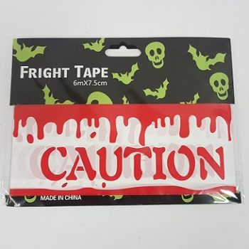 Bloody caution tape