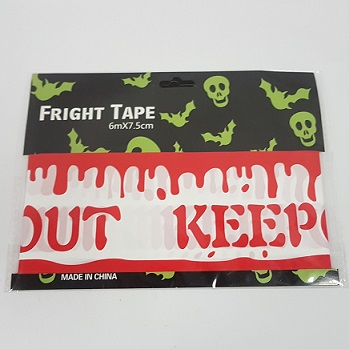 Bloody Caution party tape