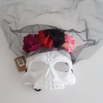 Day of the Dead skull mask