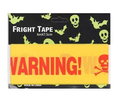 Warning party tape