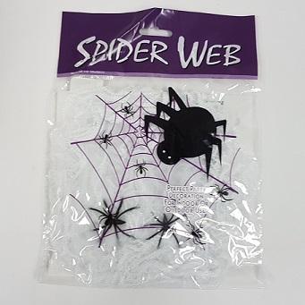 White spider webbing