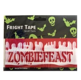 Zombie feast party tape